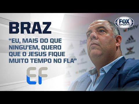 FLAMENGO: CONTRATO VITALÍCIO PARA JORGE JESUS? Marcos Braz fala sobre o Mister | Expediente Futebol