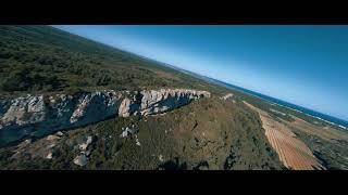 VTT la clape en drone long range dji fpv system