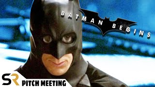 "Batman Begins Pitch Meeting: Christian Bale's ""Dark And Gritty"" Caped Crusader"