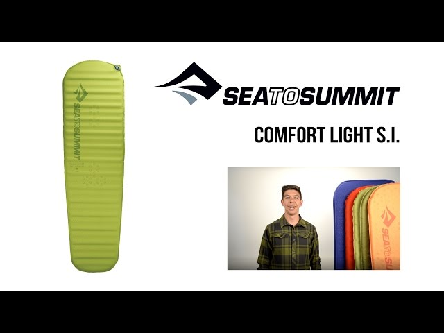 Видео Коврик Sea to Summit Air Sprung Comfort Light Mat L