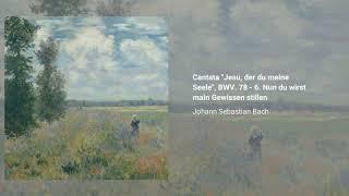 Cantata ''Jesu, der du meine Seele'', BWV 78