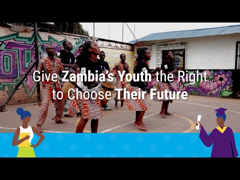 Give Zambia's Youth the Right to Choose Their Future Video thumbnail