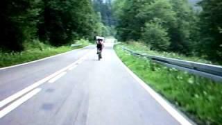 preview picture of video 'Zjazd do Cisnej'