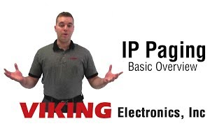 SIP Paging Basics by Viking Electronics