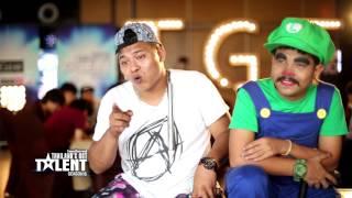 Thailand's Got Talent Season 6 EP2 3/6 | Mr Bean
