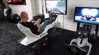 Simulador F1 - PC - XBOX ONE - PS4 - Cockpit Motion 2DOF