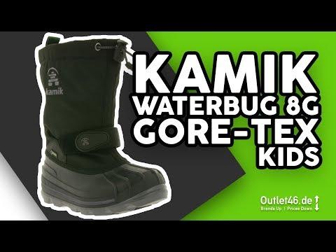 Kamik Waterbug8 Gore-Tex Kinder Winterstiefel DEUTSCH l Review l Haul l Overview l Outlet46