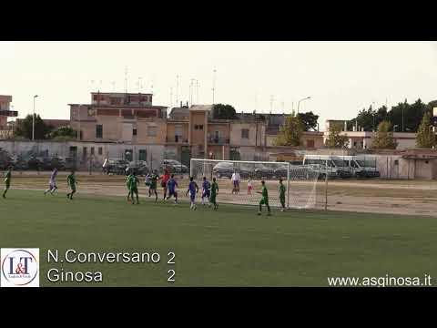 Preview video Norba CONVERSANO-GINOSA 2-2 Falsa partenza ma poi il Ginosa domina, recupera due reti e rischia di vincere meritatamente