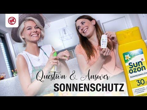 Q&A – Sonnenschutz: Louisa und Anna beantworten eure Fragen