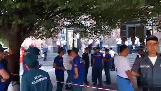 В Полицию поступил звонок о бомбе в здании Минтранса в центре Ереване