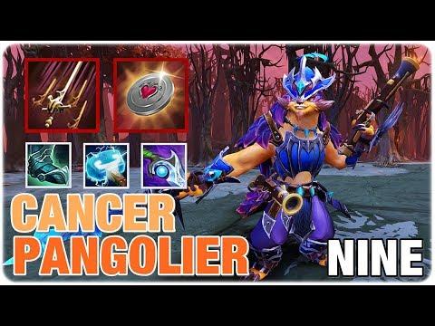 The Cancer Carry MID Pangolier vs Invoker by NINE Dota 2 Full Game