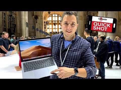 Apple MacBook Air 2018 im First Look: Leichtgewicht mit Retina-Display