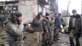 Пленные украинцы и Гиви
