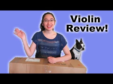 Unboxing and Review (by a music major) – Kaizer Student Violin 1000 Series
