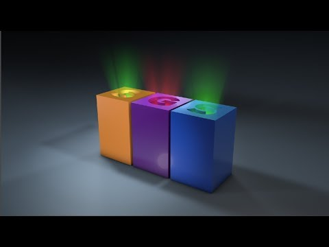 Volumetric Rays on Boole using Cinema 4D Tutorial