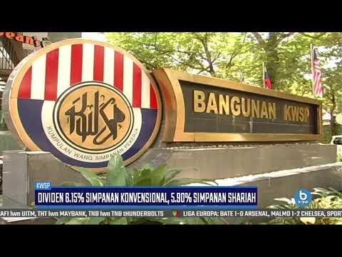 KWSP Isytihar Kadar Dividen Simpanan Konvensional 2018,6.15%