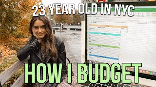 How I Budget as a 23 Year Old Living in NYC