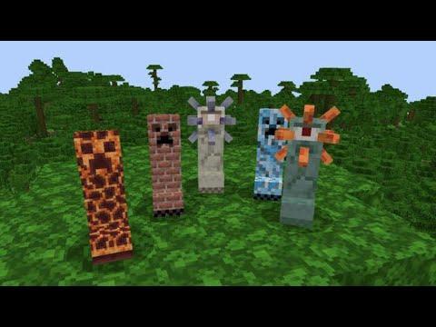 minecraft pocket edition V-Creepers addon