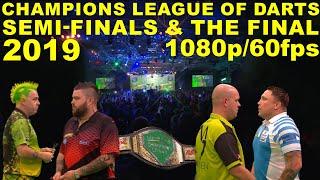 SEMI'S & FINAL 2019 Champions League of Darts HD1080p/60fps
