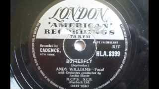 Andy Williams 'Butterfly' 78 rpm
