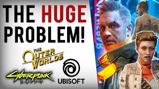 Journalists & Devs SLAM Cyberpunk 2077, The Outer Worlds & Ubisoft For Refusing To Pander...