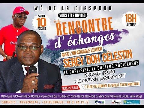 L'appel de la diaspora wê de France à la mobilisation pour Serey Doh Célestin dit Adjaro