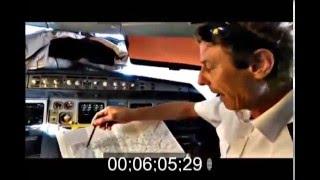 FLAT EARTH ADDICT 25 : Sydney To Santiago Non-Stop Flight Cockpit Video