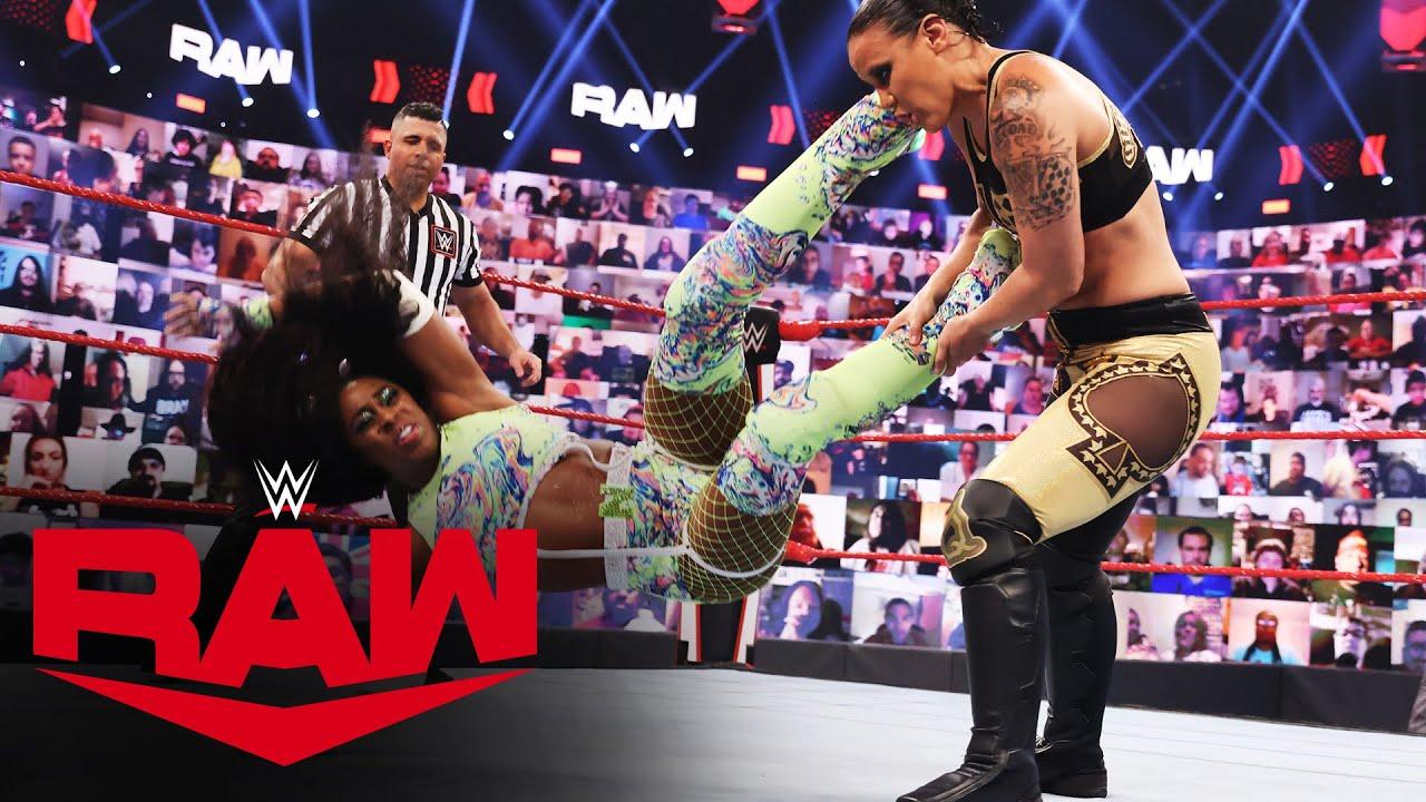 WWE Women's Tag Team Champions Shayna Baszler & Nia Jax Retain Over Lana & Naomi On RAW