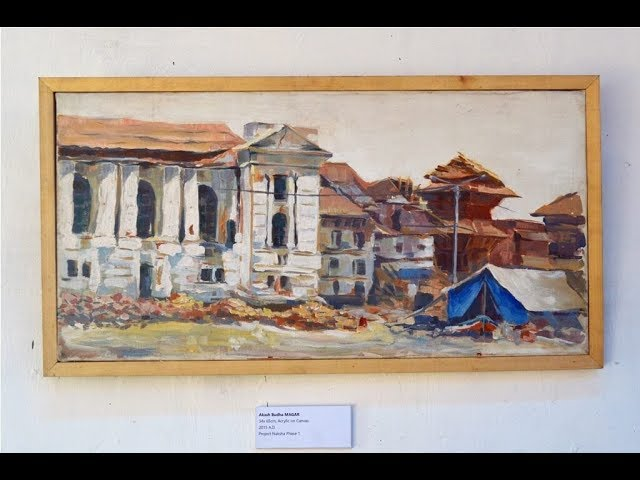 Mapping the earthquake with art