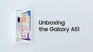 Galaxy A51: Official Unboxing | Samsung thumbnail