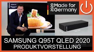 Produktvorstellung - SAMSUNG Q95T QLED Serie 2020