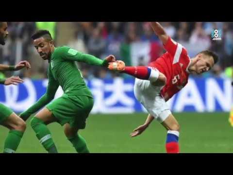 Día 1: Con 5 goles Rusia le ganó a Arabia Saudita