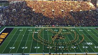 University of Iowa Band give a unique wave to the Children's Hospital
