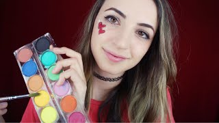 [ASMR] Painting Your Face! (Soft Spoken)