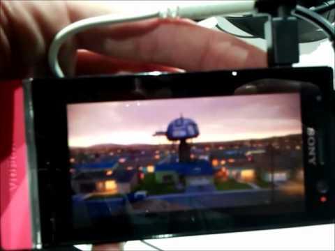 Foto Sony Xperia U: Anteprima video Sony Xperia U