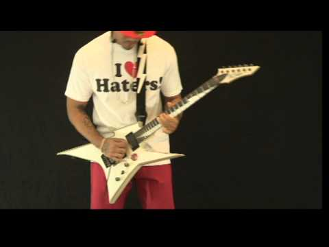 "Rapper/Producer Fyrare ""eye on you"" guitar solo rehearsal footage from ""Eye On You Extended"" Video"