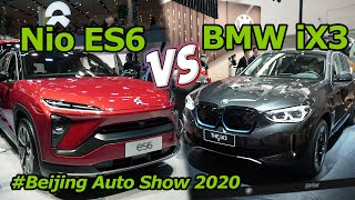 BMW iX3 VS Nio ES6 at Auto China: Is the First BMW Electric SUV Worth the Wait?