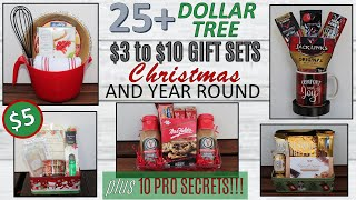 25 DOLLAR TREE DIY Christmas Gift Basket Ideas| Gift Baskets 2019 | $3 to $10 plus Pro SECRETS!!