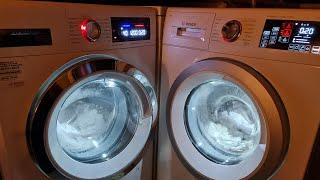 Bosch Serie 8 vs Serie 6: Super Quick 40°c Wash Race