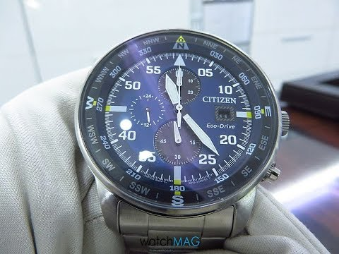 d8498d6b47b076 Citizen AT 8124 Eco Drive - H800 Caliber - review & tutorial on how ...