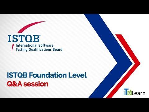 ISTQB Foundation Level Q&A - iTeLearn - YouTube
