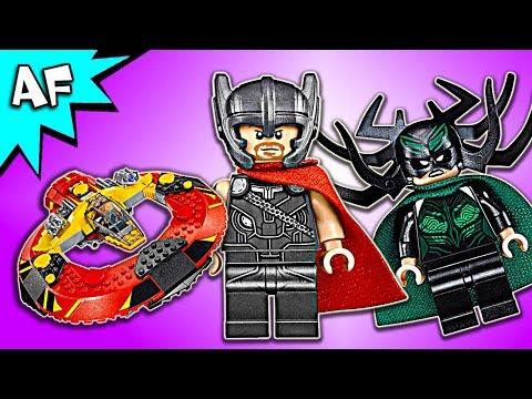 Vidéo LEGO Marvel 76084 : La bataille suprême pour la survie d'Asgard