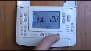 Honeywell CM907 Digital Programmable Room Thermostat