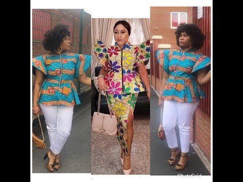 How To Make A Beautiful Blouse With A Stand Out- Sleeve