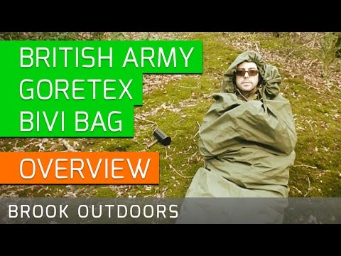 British Army Goretex Bivi Bag │ Waterproof │ Personal Shelter System