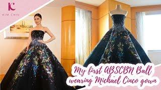 My first ABS-CBN Ball wearing Michael Cinco gown | Kim Chiu PH