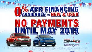 Phil Long Dealerships - Memorial Sales Blitz 2018