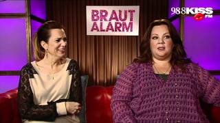 """Brautalarm"" Interview with Kristen Wiig"