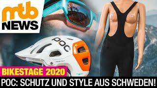 POC 2021: Neue Helme mit NFC-Technologie und die beste Radhose für Frauen? | BikeStage 2020