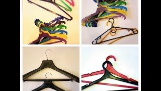 """Вешалка пластиковая  для одежды. от компании """"ПЛАСТ """" ЧП - видео 1"""
